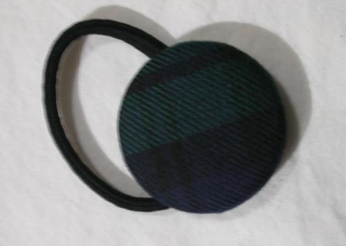 Black Watch Tartan Hair Bobble