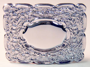 Chrome Thistle Buckle 9601
