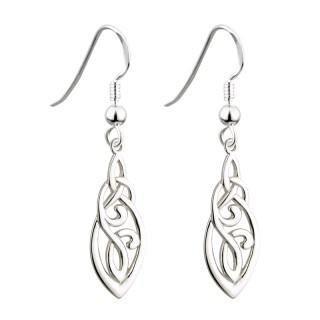 Trinity Celtic Drop Earrings s33424