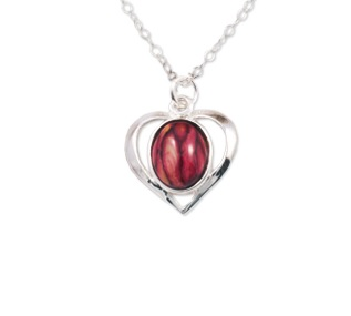 Heathergem Heart Pendant SP405