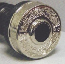 McCallum P4 Black Acetyl Bagpipes