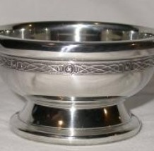 Clan Crested Quaich Outside 3