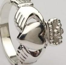 Ladies Claddagh Ring Heavy CLAD3H