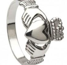 Ladies Claddagh Ring Medium CLAD3M
