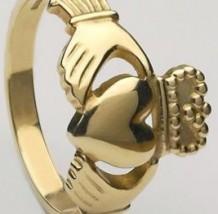 Gents Claddagh Ring Heavy CLAD5H
