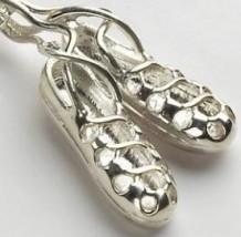 Dancing Shoes Pendant Silver