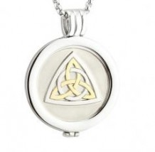 Celtic Knot Coin Pendant S45791