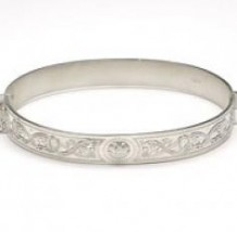 Warrior Shield Bangle BCT44