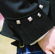 Argyle Band Jacket Cuff