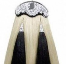Horse Hair White Sporran #1002 & 1001