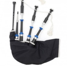 McCallum P4 Themed Acetyl Bagpipes- Police