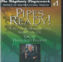 Pipes Ready! by Jim McGillivray DVD