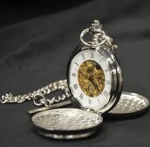 Trinity Knot Mechanical Pocket Watch