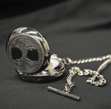 Tree of Life Mechanical Pocket Watch