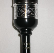 McCallum AB4 Bagpipes Blackwood Mounts Celtic