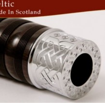 Wallace Classic 4 Engraved Bagpipes Celtic