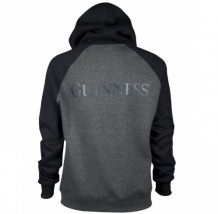 Guinness Charcoal and Black Pullover Hoodie G7010