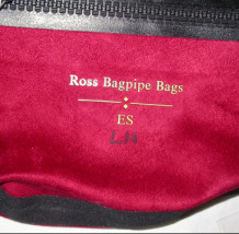 Left Handed Ross Suede Bag Extended Small
