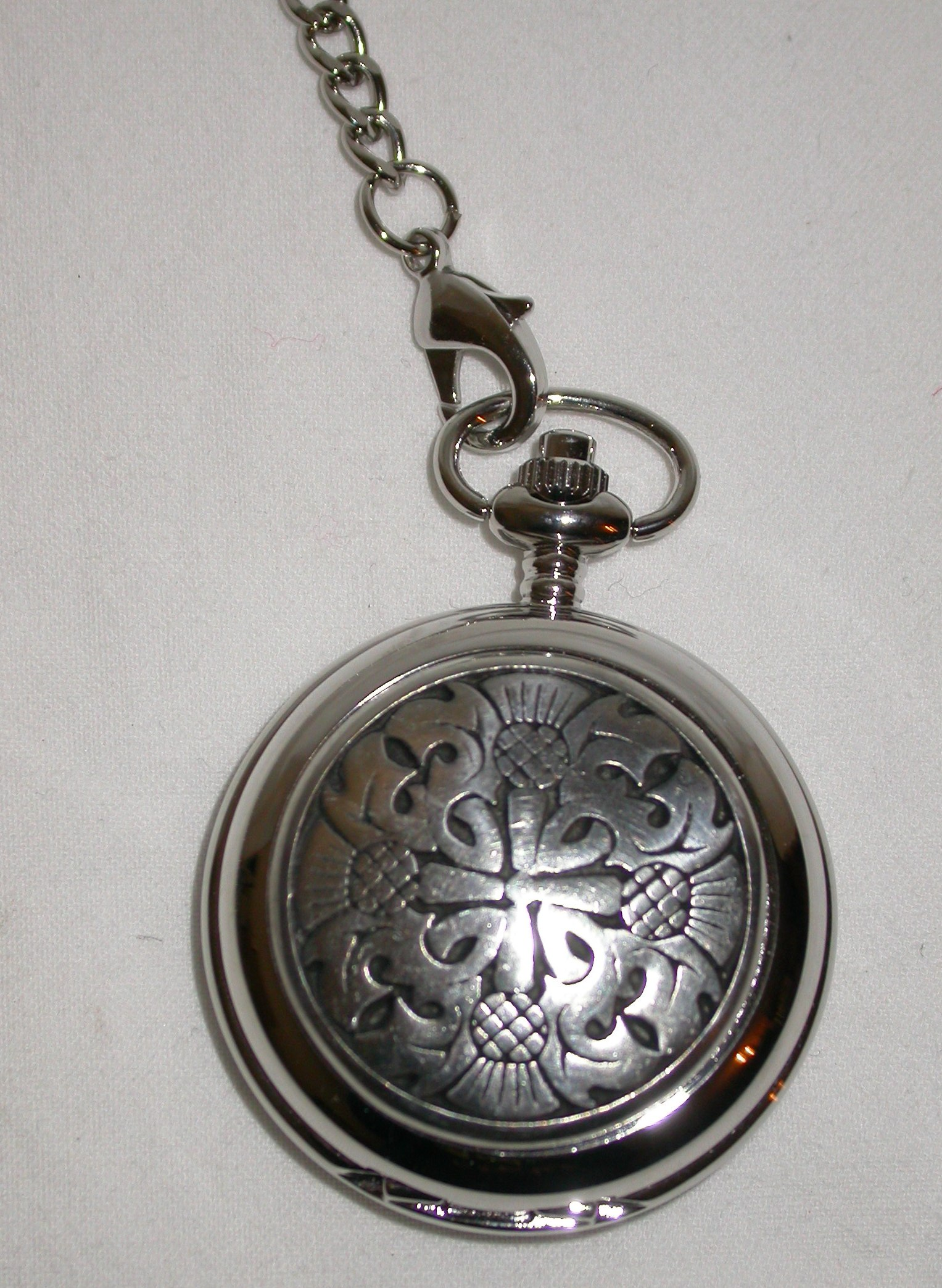 4 Thistle Pocket Watch PW23