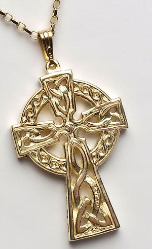 Ladies Narrow Celtic Warrior Shield Band WED23