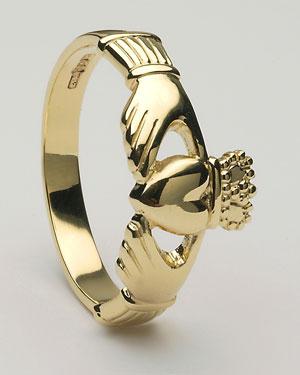 Ladies Claddagh Ring Medium CLAD6M