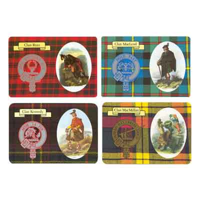 Clan Post Cards