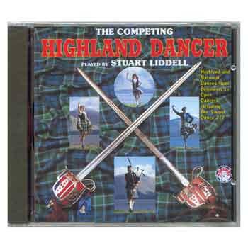 Competing Highland Dancer CD