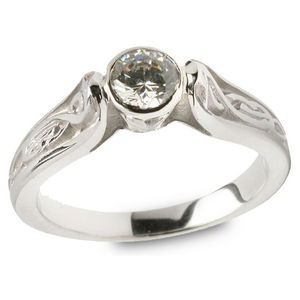 Diamond Engagement Ring - Le Cheile Shank (.50cts) ENG11