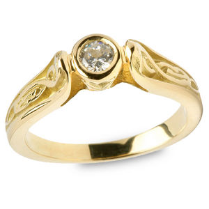 Gents Claddagh Ring G200
