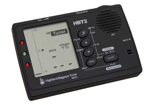 HBT2 Highland Bagpipe Tuner