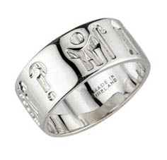 Silver Scottish Clan Crest Ring