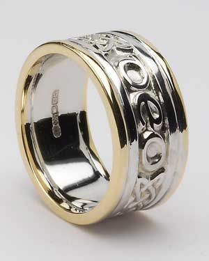 Engraved Mouthpiece Ring