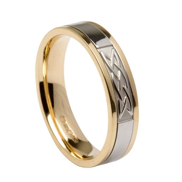 Silver Irish Family Arms Ring